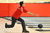 Liam Mahoney of St. John the Baptist rolls a frame during the NYSCHSAA boys bowling individual championship at AMF Babylon Lanes on Saturday, Mar. 5, 2016. He rolled a four-game series of 1,006. As the top finisher in the tournament, he qualified for a five-person step ladder format playoff in which he took second place.
