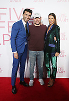 LOS ANGELES, CA - MARCH 7: Justin Baldoni, Emily Baldoni, Guest, at The Premiere Of Lionsgate's &quot;Five Feet Apart&quot; at The Fox Bruin Theatre in Los Angeles, California on March 7, 2019. <br /> CAP/MPI/SAD<br /> &copy;SAD/MPI/Capital Pictures