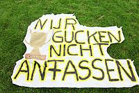 Berliner Fans hofften auf die Titelvertreidigung