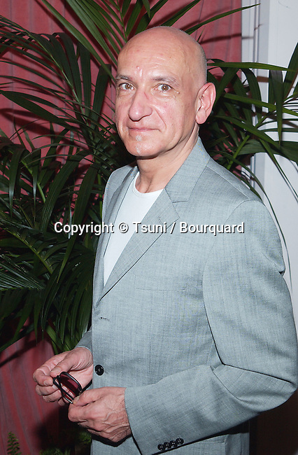 """Nominee for Best Supporting Actor for """"Sexy Beast"""", Ben Kingsley arrives at the nominees luncheon for the 74th Annual Academy Awards at the Beverly Hilton Hotel in Beverly Hills, Ca., March 11, 2002.            -            KingsleyBen01A.jpg"""