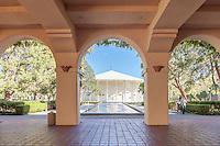 Beckman Institue Caltech Building Pasadena California