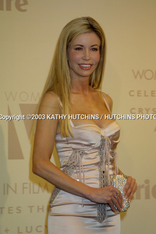 ©2003 KATHY HUTCHINS / HUTCHINS PHOTO AGENCY.WOMEN IN FILM CELEBRATES THE CRYSTAL AND LUCY AWARDS.MONDAY, JUNE 2, 2003.CENTURY CITY, CA..SHAUNE BAGWELL