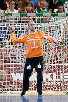Thierry Omeyer (THW) am Ball, wirft