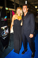 GOLD COAST, Queensland/Australia (Friday, February 24, 2012) Joel Parkinson (AUS) with wife Monica.  The 29th Annual ASP World Surfing Awards went off tonight at the Gold Coast Convention and Exhibition Centre with the worlds best surfers trading the beachwear for formal attire as the 2011 ASP World Champions were officially crowned.. .Kelly Slater (USA), 40, and Carissa Moore (HAW), 19, took top honours for the evening, collecting the ASP World Title and ASP Womens World Title respectively.. .I have actually been on tour longer than some of my fellow competitors have been alive, Slater said. All joking aside, its truly humbling to be up here and honoured in front of such an incredible collection of surfers. I want to thank everyone in the room for pushing me to where I am...In addition to honouring the 2011 ASP World Champions, the ASP World Surfing Awards included new accolades voted on by the fans and the surfers themselves...For the first time in several years, ASP Life Membership was awarded to Hawaiian legend and icon of high-performance surfing, Larry Bertlemann (HAW), 56...Where surfing is today is where I dreamed it should be in the 70s, Bertlemann said. You guys absolutely deserve this and Im so honored to be up here in front of you all tonight..Grammy Award-winning artists Wolfmother and The Vernons rounded out the nights entertainment which was all streamed LIVE around the world on YouTube.com..Photo: joliphotos.com