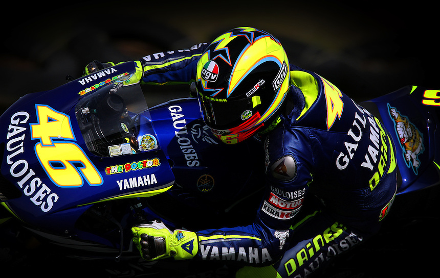 Moto GP rider valentino Rossi