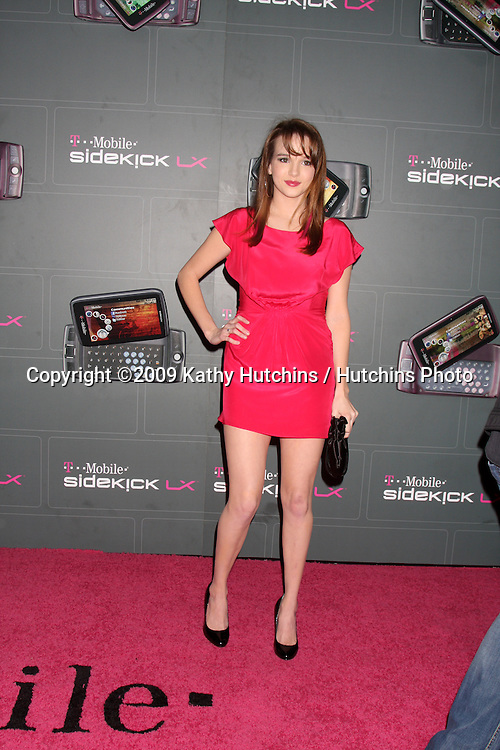 Kay Panabaker arriving at the  T-Mobile Sidekick LX Launch Event at  Paramount Studios in.in Los Angeles, CA on May 14, 2009 .©2009 Kathy Hutchins / Hutchins Photo...                .