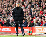 Jose Mourinho manager of Chelsea  - Barclays Premier League - Liverpool vs Chelsea - Anfield Stadium - Liverpool - England - 8th November 2014  - Picture Simon Bellis/Sportimage