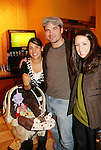 "Guiding Light's Daniel Cosgrove ""Billy Lewis"" poses with fans and donated his time for Young Women's Breast Cancer Awareness Foundation by going to Pittsburgh, PA on October 7, 2008 and went Pink with Panera. They visited three of 27 Panera Bread locations during the day where 100% of sales from their Pink Ribbon bagels went to the foundation and a portion of those sales all during the month of October. For more information go to www.breastcancerbenefit.org. The day started out with Star 100.7 and the hosts Kate and JR interviewed Frank Dicopoulos. The two actors then went to the CBS studio in Pittsburgh in the morning. The day was a great hit. (Photo by Sue Coflin/Max Photos)"
