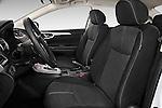 Front seat view of2014 Nissan Sentra SV 4 Door Sedan Front Seat car photos