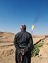 Iraq 2011.On the oil field of Western Zagros in Germian.Irak 2011.Le champ de petrole de Western Zagros dans la region de Germian
