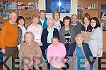 Enjoying the Castleisland Day Care Centre fun day on Sunday was Eileen Hannafin, Laura O'Sullivan, Helen Casey. Back row: Donal Nelligan, Nora Hogan, Bridie Geaney, Kathleen Myers, Sr Maureen King, Sheila Greaney, Helen Pembroke, Martin Rellis, Ann Rellis and Tara Howarth..