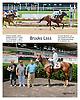 Brooks Lass winning at Delaware Park on 7/10/14
