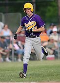 Matt Kruppner of the Pavilion Golden Gophers during the Section V Class-C crossover game against the Keshequa Indians on June 3, 2007.  (Copyright Mike Janes Photography)