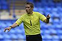 Referee Craig Pawson<br />  - Tranmere Rovers v Stevenage - Sky Bet League One - Prenton Park, Birkenhead - 7th September 2013. <br /> © Kevin Coleman 2013