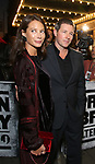 Christy Turlington and Ed Burns attending the opening night performance for 'Springsteen on Broadway' at The Walter Kerr Theatre on October 12, 2017 in New York City.