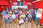 Marie O'Leary and John Devane both from Kilcummin (centre), pictured with their parents, family and friends enjoying their engagement party in Village Inn, Kilcummin on Saturday night.