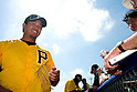 Ryota Igarashi (Pirates),.MARCH 3, 2012 - MLB :.Ryota Igarashi of the Pittsburgh Pirates signs autographs for fans before a spring training game against the Toronto Blue Jays at Florida Auto Exchange Stadium in Dunedin, Florida, United States. (Photo by Thomas Anderson/AFLO) (JAPANESE NEWSPAPER OUT)