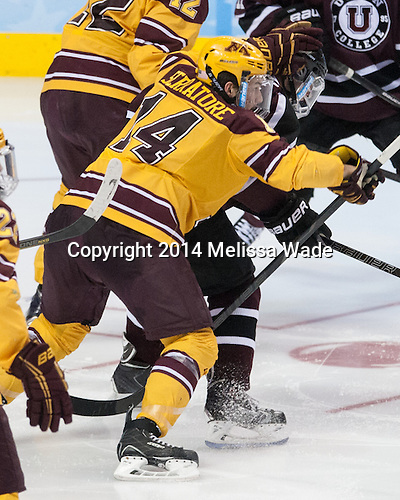Tom Serratorre (MN - 14) - The Union College Dutchmen defeated the University of Minnesota Golden Gophers 7-4 to win the 2014 NCAA D1 men's national championship on Saturday, April 12, 2014, at the Wells Fargo Center in Philadelphia, Pennsylvania.