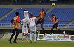 Pereira- Águilas Doradas venció 1 gol por 0 a Envigado F.C, en el partido correspondiente a la fecha 13 del Torneo Clausura 2014, desarrollado en el estadio Hernán Ramírez Villegas.
