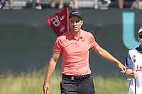 Ross Fisher (ENG) on the 16th green during Thursday's Round 1 of the 118th U.S. Open Championship 2018, held at Shinnecock Hills Club, Southampton, New Jersey, USA. 14th June 2018.<br /> Picture: Eoin Clarke | Golffile<br /> <br /> <br /> All photos usage must carry mandatory copyright credit (&copy; Golffile | Eoin Clarke)