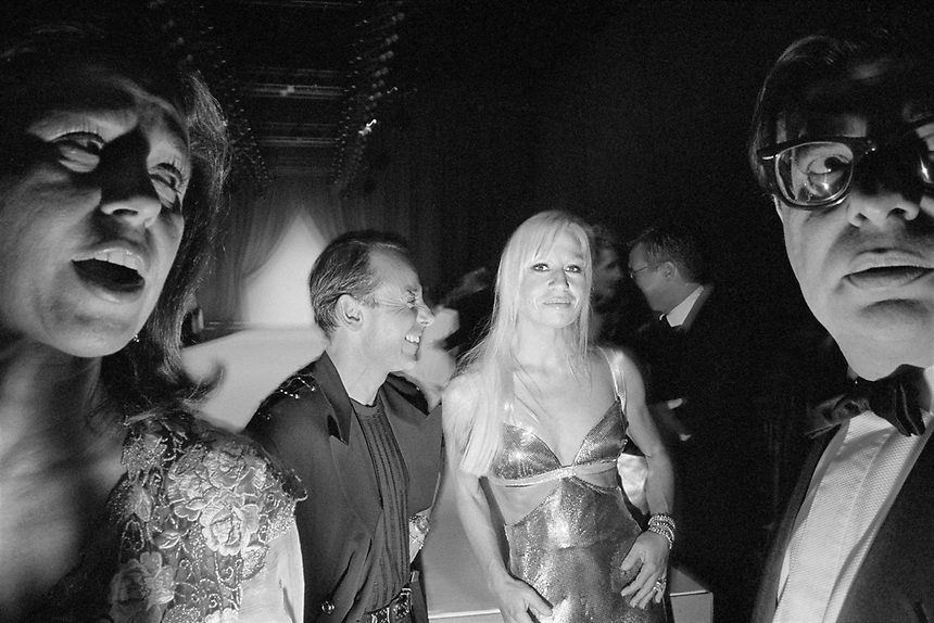Donatella Versace at the Fashion Group International Gala in NYC, 1994