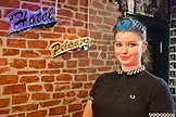 ENGLAND, Brighton,  Alis Cocktail Waitress at  Hotel Pelirocco