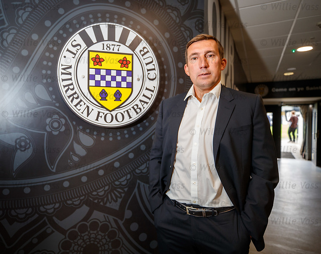 11.06.18 Alan Stubbs new St Mirren manager