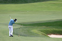 Ryo ISHIKAWA plays his 2nd shot on the 9th hole during Thursday's Round 1 of the 2014 PGA Championship held at the Valhalla Club, Louisville, Kentucky.: Picture Eoin Clarke, www.golffile.ie: 7th August 2014