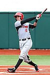 21 February 2015: Hartford's Chris DelDebbio. The Iona College Gaels played the University of Hartford Hawks in an NCAA Division I Men's baseball game at Jack Coombs Field in Durham, North Carolina as part of the Duke Baseball Classic. Hartford won the game 12-1.