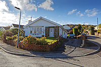 "Pictured: The house where the Range Rover car was parked on its drive, which rolled and eventually caused the death of Pearl Black, after it crashed against the brick garden wall of the house opposite in Heolgerrig, Merthyr Tydfil, south Wales, UK. Thursday 25 October 2018 Re: The inquest into the death of a toddler who died after a parked Range Rover's brakes failed and it hit a garden wall which fell on top of her will be held at Pontypridd Coroner's Court, Wales, UK today (Thu 25 Oct 2018).<br /> One year old Pearl Melody Black and her eight-month-old brother were taken to hospital after the incident in Merthyr Tydfil, in August 2017.<br /> Pearl's family, father Paul who is The Voice contestant and mum Gemma have said she was ""as bright as the stars""."