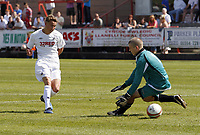 Pictured: Sunday 24 April 2011<br /> Re: Swansea City Football Club v West End FAW Youth Final at Stebonheath, Llanelli, Carmarthenshire, west Wales.