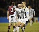 Hearts v St Mirren 2nd Feb 2010