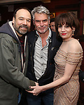 Danny Burstein, Troy Britton Johnson and Beth Leavel during the Beth Leavel Portrait unveiling at Sardi's on 3/26/2019 in New York City.