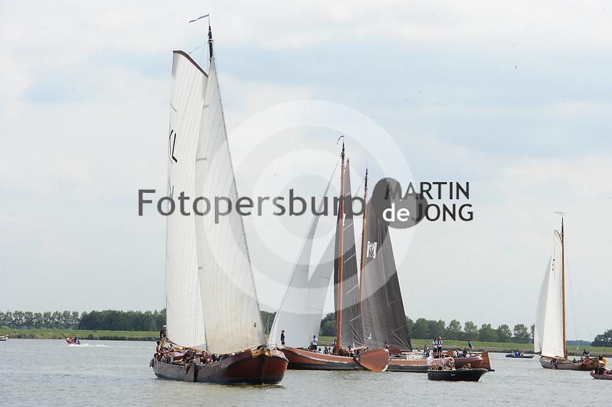 ZEILSPORT: Lemmer: 25-08-2017, IFKS Skûtsjesilen, ©foto Martin de Jong