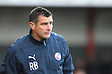 Crawley manager Richie Barker. Stevenage v Crawley Town - npower League 1 -  Lamex Stadium, Stevenage - 15th December, 2012. © Kevin Coleman 2012..