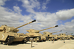 Israel, the Armored Corps Memorial Site and Museum at Latrun