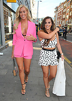 Chloe Meadows and Courtney Green at the &quot;The Dreamboys 2018 UK Tour&quot; press night, For Your Eyes Only, City Road, London, England, UK, on Tuesday 10 July 2018.<br /> CAP/CAN<br /> &copy;CAN/Capital Pictures