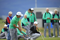 Odhran Maguire of Ireland during Day 2 / Foursomes of the Boys' Home Internationals played at Royal Dornoch Golf Club, Dornoch, Sutherland, Scotland. 08/08/2018<br /> Picture: Golffile | Phil Inglis<br /> <br /> All photo usage must carry mandatory copyright credit (&copy; Golffile | Phil Inglis)