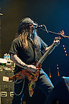 Greg Tribbett of Hellyeah performs at the Rock Vegas Music Festival at Mandalay Bay in Las Vegas, Nevada.