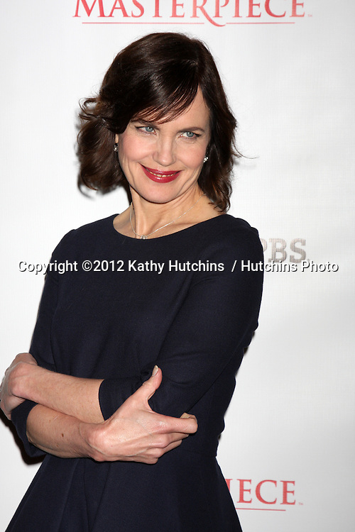 "LOS ANGELES - JUL 21:  Elizabeth McGovern at a photocall for ""Downton Abby"" at Beverly Hilton Hotel on July 21, 2012 in Beverly Hills, CA"