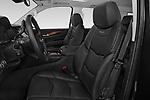 Front seat view of a 2018 Cadillac Escalade ESV 2WD Luxury 5 Door SUV front seat car photos