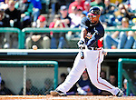 5 March 2010: Atlanta Braves' outfielder Jason Heyward in action during a Spring Training game against the Washington Nationals at Champion Stadium in the ESPN Wide World of Sports Complex in Orlando, Florida. The Braves defeated the Nationals 11-8 in Grapefruit League action. Mandatory Credit: Ed Wolfstein Photo