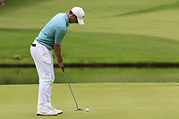 Rory McIlroy (NIR) putts on the 16th green during Sunday's Final Round of the WGC Bridgestone Invitational 2017 held at Firestone Country Club, Akron, USA. 6th August 2017.<br /> Picture: Eoin Clarke | Golffile<br /> <br /> <br /> All photos usage must carry mandatory copyright credit (&copy; Golffile | Eoin Clarke)