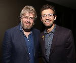 Dave Malloy and Sam Pinkleton attends the Dramatists Guild Fund's Intimate Salon with Dave Malloy at Stella Tower on June 7, 2017 in New York City.