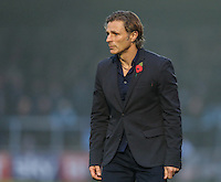 Manager of Wycombe Wanderers Gareth Ainsworth during the Sky Bet League 2 match between Wycombe Wanderers and Morecambe at Adams Park, High Wycombe, England on 12 November 2016. Photo by David Horn.