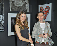 """Mouche Gallery Presents the Opening of Artist Clara Hallencreutz's Exhibit """"Picture Global Warming"""" Photos by David Levin"""