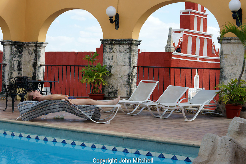 Hotel Caribe, Merida, Yucatan, Mexico.