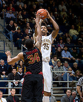 Richard Solomon of California shoots the ball during the game against USC at Haas Pavilion in Berkeley, California on February 17th, 2013.  California defeated USC, 76-68.
