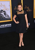 "LOS ANGELES, CA. September 24, 2018: Alyssa Milano at the Los Angeles premiere for ""A Star Is Born"" at the Shrine Auditorium.<br /> Picture: Paul Smith/Featureflash"