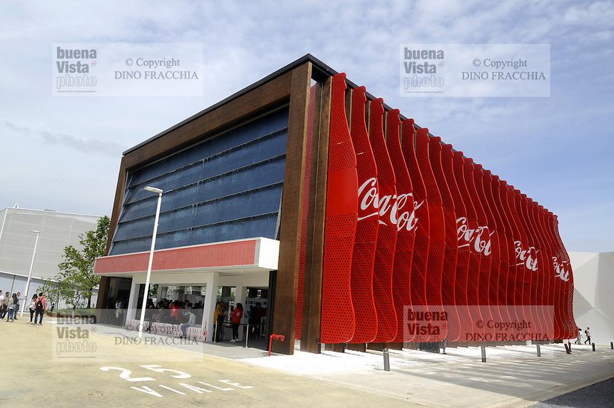 - Milano, Esposizione Mondiale Expo 2015, padiglione Coca Cola<br /> <br /> - Milan, the World Exhibition Expo 2015, Coca Cola pavilion